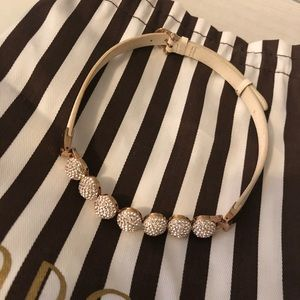 Henri Bendel Rocks Necklace and bracelet